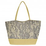 32781- GREY CAMOU SHOPPING OR BEACH BAG