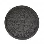 1233 - IRON WATERMETER TRIVET