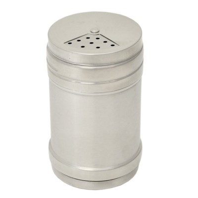 32548 - STAINLESS STEEL SHAKER  (CHEESE OR PEPPER)
