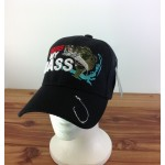 "2016 - """"KISS MY BASS"""" BLACK COTTON CAP"