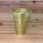 1082 -  GOLD X-MAS THEME BUCKET