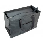 12002- GREY LARGE SHOPPING BASKET OR UTILITY BASKET