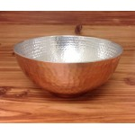 3594-2 TONE LARGE HAMMERED BOWL