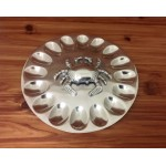 52497 - ROUND EGG TRAY W/ CRAB DESIGN
