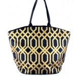 9200 - NAVY CANVAS TOTE BAG
