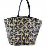 9202 - NAVY CANVAS TOTE BAG