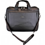 9252BR - BROWN LAPTOP CARRIER BAG