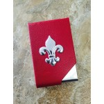 181127-BUSINESS CARD HOLDER RED / W FDL