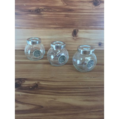 MJ8294WM-SPICE JAR W/ WATER METER EMBLEM SET/3