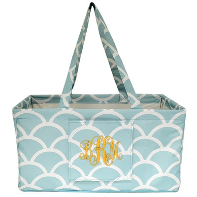 6030 - AQUA SHELL SHOPPING BASKET / UTILITY BASKET