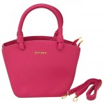 32784 - HOT PINK PURSE /W HANDLE