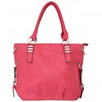 9005 - HOTPINK LEATHER DESIGNER PURSE
