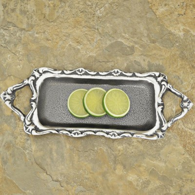 30517 - RECTANGULAR TRAY SMALL /W HANDLE