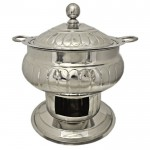 4041 - CHAFING DISH STRIPES DESIGN