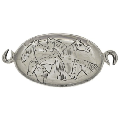 52524 - HORSE TRAY /W HANDLE