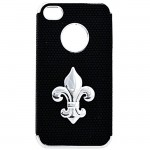 901271-FDL-IPHONE 4/4S COVER BLACK W/FDL