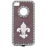 SW901285-FDL-IPHONE 4/4S COVER PINK W/FDL