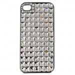 IPHONE 4/4S COVER W/CLEAR STONES