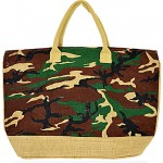 5CAM-CAMOUFLAGE JUTE BAG