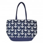 32555 - MUTI ANCHOR NAVY DESIGN INSULATED ICE BAG