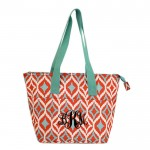6044 - MULTI COLOR DESIGN INSULATED LUNCH BAG