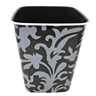 122002 LEAF DESIGN WASTE BASKET