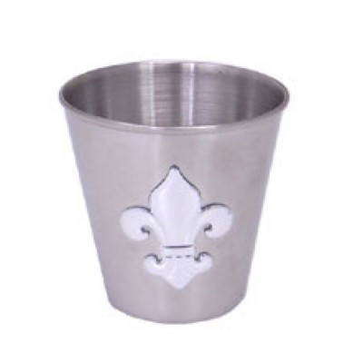 SSHOT-FDL-1.5 Oz. Stainless Shot Glass / W FDL 1.5""