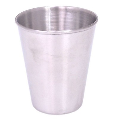 """180763-2.0 Oz. Stainless Shot Glass 2.25"""""""