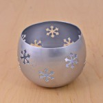 1083 - CHRISTMAS THEME VOTIVE CANDLE HOLDER