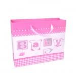 YA-702-BABY GIRL PINK GIFT BAG SMALL