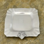 52465 - SQUARE PLAIN W/FDL TRAY