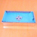 23920 - BEADED RECT. NAPKIN HOLDER / W STAR