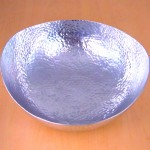 3455 - HAMMERED OVAL  BOWL