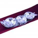 50823 - TRAY / W THREE BOWLS & SPOON SET / 7