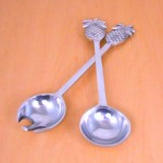 50825 - PINEAPPLE SERVING SET OF 2