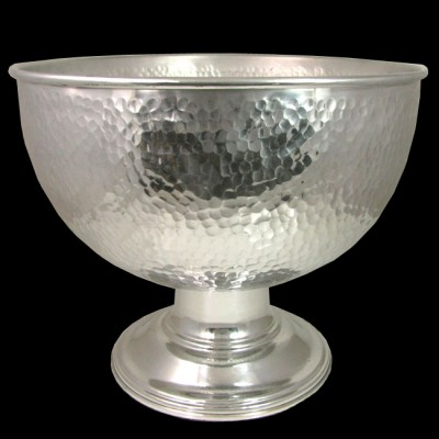 3471-HAMMERED PUNCH BOWL LARGE