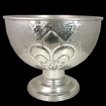 3472-FDL/HAMMERED PUNCH BOWL LARGE