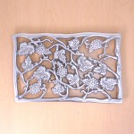52061-TRIVET W/ GRAPE DESIGN