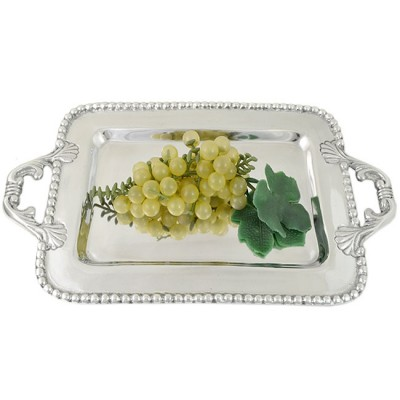 52406 - LARGE RECT. BEADED TRAY