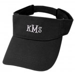 181342 - BLACK COTTON VISOR CAP