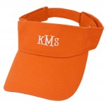 181346 - ORANGE COTTON VISOR CAP