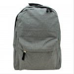 9155 -GREY STANDARD SIZE BACKPACK