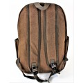 9253 - BROWN LARGE BACKPACK
