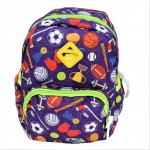9186 - PURPLE SPORTS KIDS SMALL BACKPACK