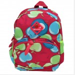 9187 - PINK APPLES KIDS SMALL BACKPACK