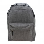 9155 -DARK GREY STANDARD SIZE BACKPACK