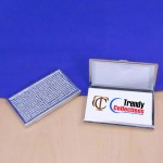 ST32104-CLR BUSINESS CARD HOLDER / CLEAR CRYSTAL