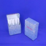 ST32106-CLR CIGARETTE HOLDER / CLEAR CRYSTAL