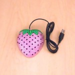 ST32115-STRAWBERRY MOUSE / PINK CRYSTAL