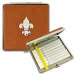 SUN2010 - CIGARETTE HOLDER BROWN W / FDL